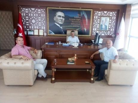 Özçifçi ve Filiz Edirne'de Daire Müdürlerini Ziyaret Ediyor.