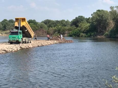 Meriç Nehrine Set Vuruldu.