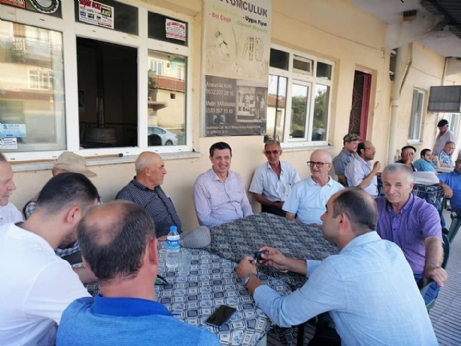 Gaytancıoğlu, Hacıköy'ü, Ziyaret Etti.