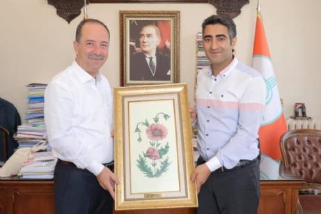 Aslantatar, Gürkan'ı, Ziyaret Etti.
