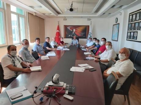 Hamzadere Barajı Toplantısı Yapıldı