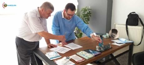 TYBB Edirne Şubesi Diş Hekim Eren Uslu ile Sağlık Protokolü imzaladı.