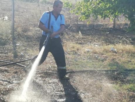 Hacıköy'de Korkutan Yangın