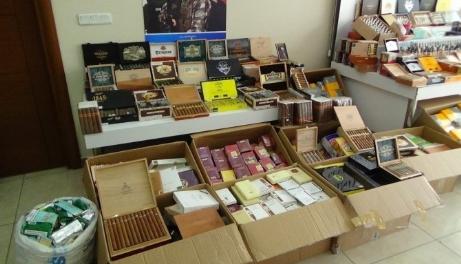Tarlada 340 bin TL değerinde elektronik sigara bulundu