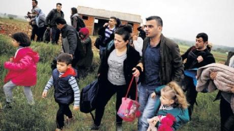 Yılın İlk Mültecileri Geldi..