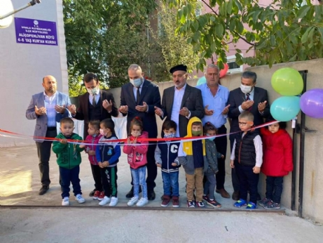Aliçopehlivan Köyünde Kuran Kursu Açıldı.