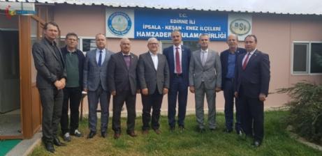 """Aliş, Hamzadere Türkiye'nin En Büyük Birliğidir """"dedi."""