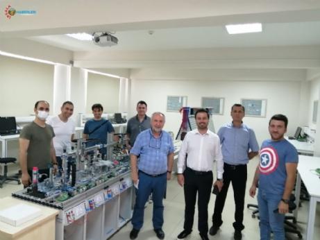 SKS Daire Başkanı Burak İşçimen Yüksekokulu Ziyaret Etti.