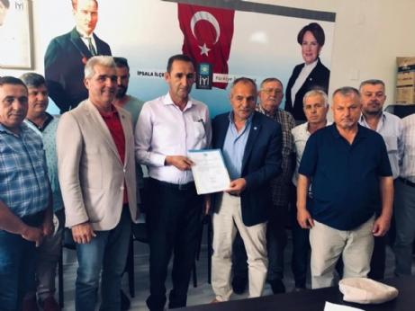 Hasan Geçit İYİ Parti İlçe Başkanlığına Atandı.
