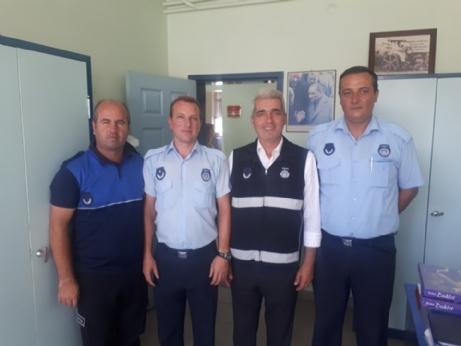 Ünsal, Zabıtaların Haftasını Kutladı.